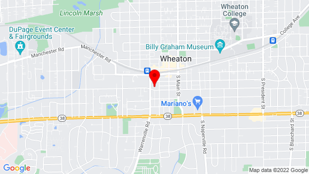 Google Map of 310 South Wheaton Avenue, Wheaton, IL 60187