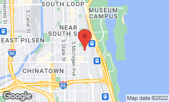 Map of 310 East Cullerton Street C CHICAGO, IL 60616