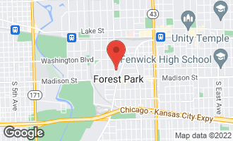 Map of 310 Lathrop Avenue #308 FOREST PARK, IL 60130