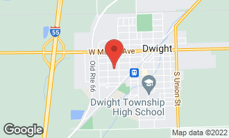 Map of 310 West South Street DWIGHT, IL 60420