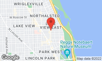 Map of 3109 North Broadway Street CHICAGO, IL 60657