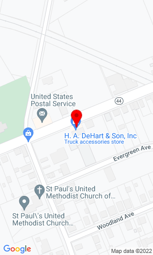 Google Map of H.A. DeHart & Son 311 Crown Point Road, Thorofare, NJ, 08086