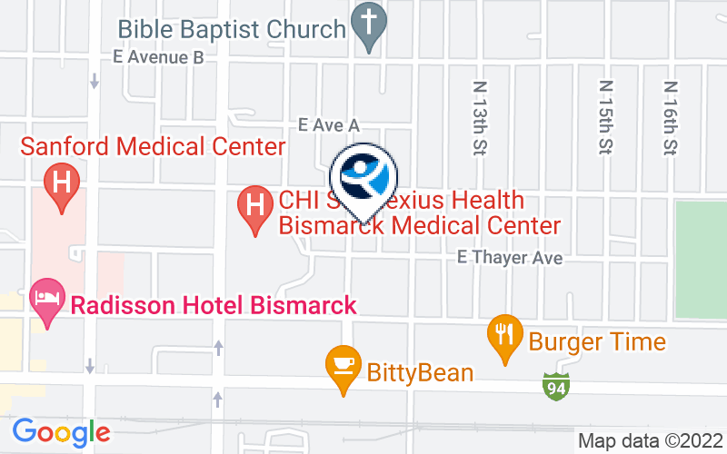CHI St. Alexius Health - Bismarck Location and Directions