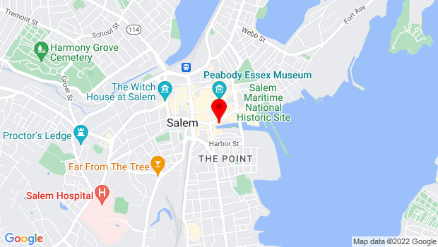 Google Map of 311 Derby Street, Salem, MA 01970