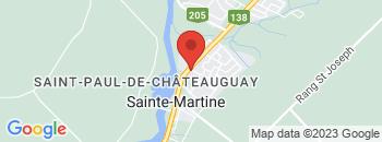 Google Map of 311+Rue+Saint-Joseph%2CSainte-Martine%2CQuebec+J0S+1V0