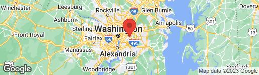 Map of 311 59TH STREET NE WASHINGTON, DC 20019