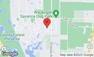 Map of 3110 Mini Drive WADSWORTH, IL 60083
