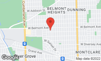 Map of 3110 North 78th Avenue ELMWOOD PARK, IL 60707