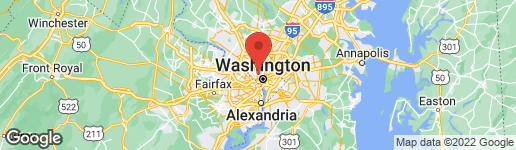 Map of 3115 NORMANSTONE TERRACE NW WASHINGTON, DC 20008