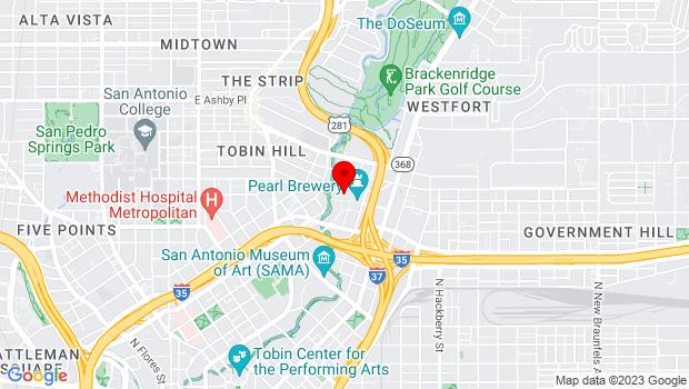 Google Map of 312 Pearl Parkway, San Antonio, TX 78215