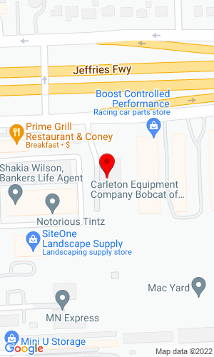 Google Map of Carleton Equipment Co., Inc. 31231 Schoolcraft Road, Livonia, MI, 41850