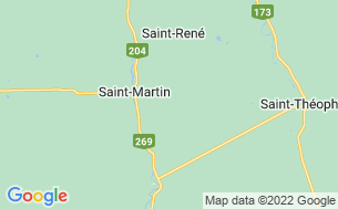 Map of Camping Du Club Sportif Grande-Coudée Inc.