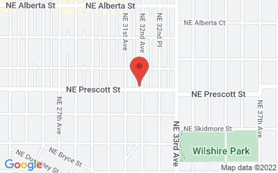 Map of Thrive Acupuncture