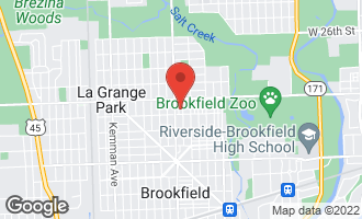Map of 3134 Elm Avenue BROOKFIELD, IL 60513