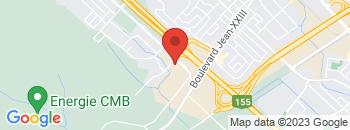 Google Map of 3135+Boulevard+Saint-Jean%2CTrois-Rivieres%2CQuebec+G9B+2M3