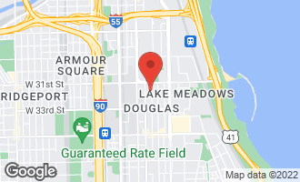 Map of 3136 South Prairie Avenue #1 CHICAGO, IL 60616