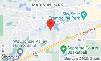Map of 3139 Portland Court AURORA, IL 60504