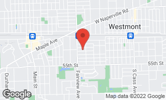 Map of 314 5th Street DOWNERS GROVE, IL 60515