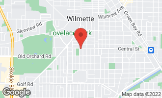 Map of 3140 Central Street #2 EVANSTON, IL 60201