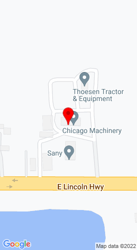 Google Map of Chicago Machinery Company 3142 Lincoln Highway, Lynwood, IL, 60411