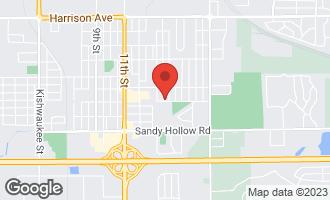 Map of 3146 Marshall Street ROCKFORD, IL 61109