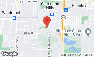 Map of 315 Hudson Avenue CLARENDON HILLS, IL 60514