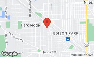 Map of 315 South Crescent Avenue PARK RIDGE, IL 60068