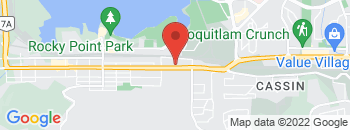 Google Map of 3150+St.Johns+Street%2CPort+Moody%2CBritish+Columbia+V3H+2C7