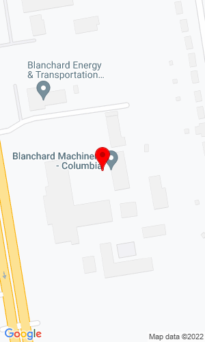 Google Map of Blanchard CAT 3151 Charleston Highway, West Columbia, SC, 29172