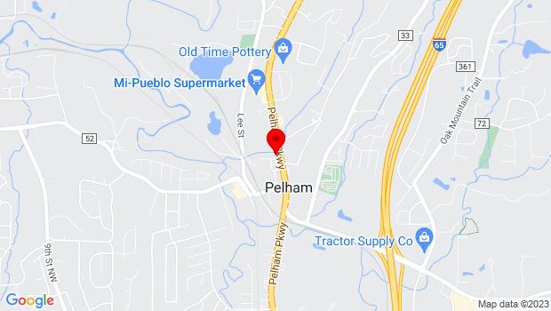 Google Map of 3156 Pelham Parkway, Pelham, AL 35124