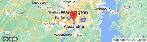 Map of 316 ASHBY STREET D ALEXANDRIA, VA 22305