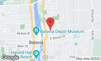 Map of 317 Franklin Street BATAVIA, IL 60510