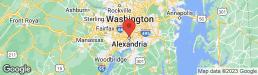 Map of 317 SAINT ASAPH STREET S ALEXANDRIA, VA 22314