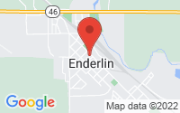 Enderlin Location Map