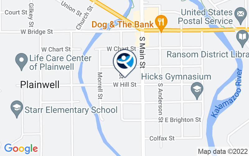 Plainwell Counseling Center Location and Directions