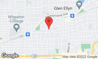Map of 319 Lorraine Street GLEN ELLYN, IL 60137