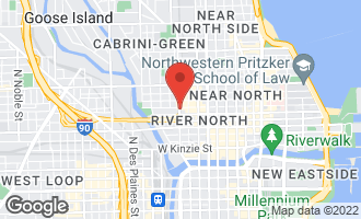 Map of 319 West Erie Street 4THFL CHICAGO, IL 60654