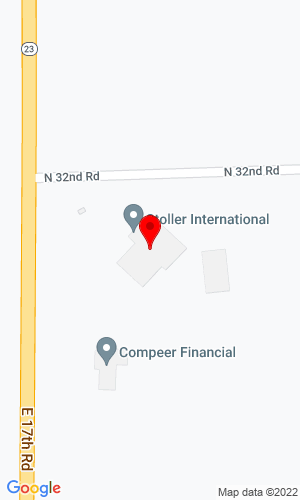 Google Map of Stoller International, Inc. 3196 N. Ill. Route 23, Ottawa, IL, 61350