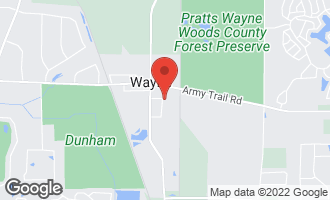 Map of 31W711 Orchard Lane WAYNE, IL 60184