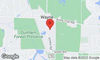 Map of 31W720 Percheron Lane WAYNE, IL 60184