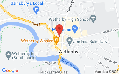 Map of Wetherby Holistic Health