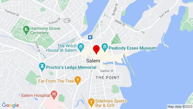 Google Map of 32 Derby Sq, Salem, MA 01970