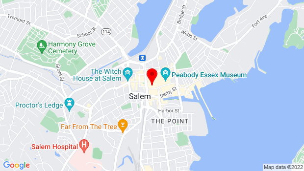Google Map of 32 Derby Square , Salem, MA 01970