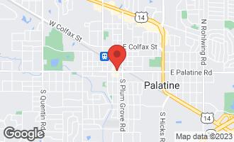 Map of 32-60 West Palatine Road PALATINE, IL 60067