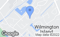 Map of Wilmington Island, GA