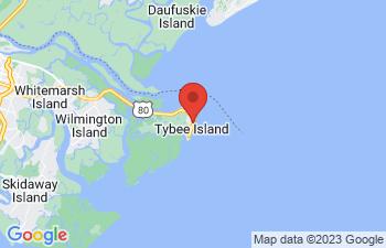 Map of Tybee Island