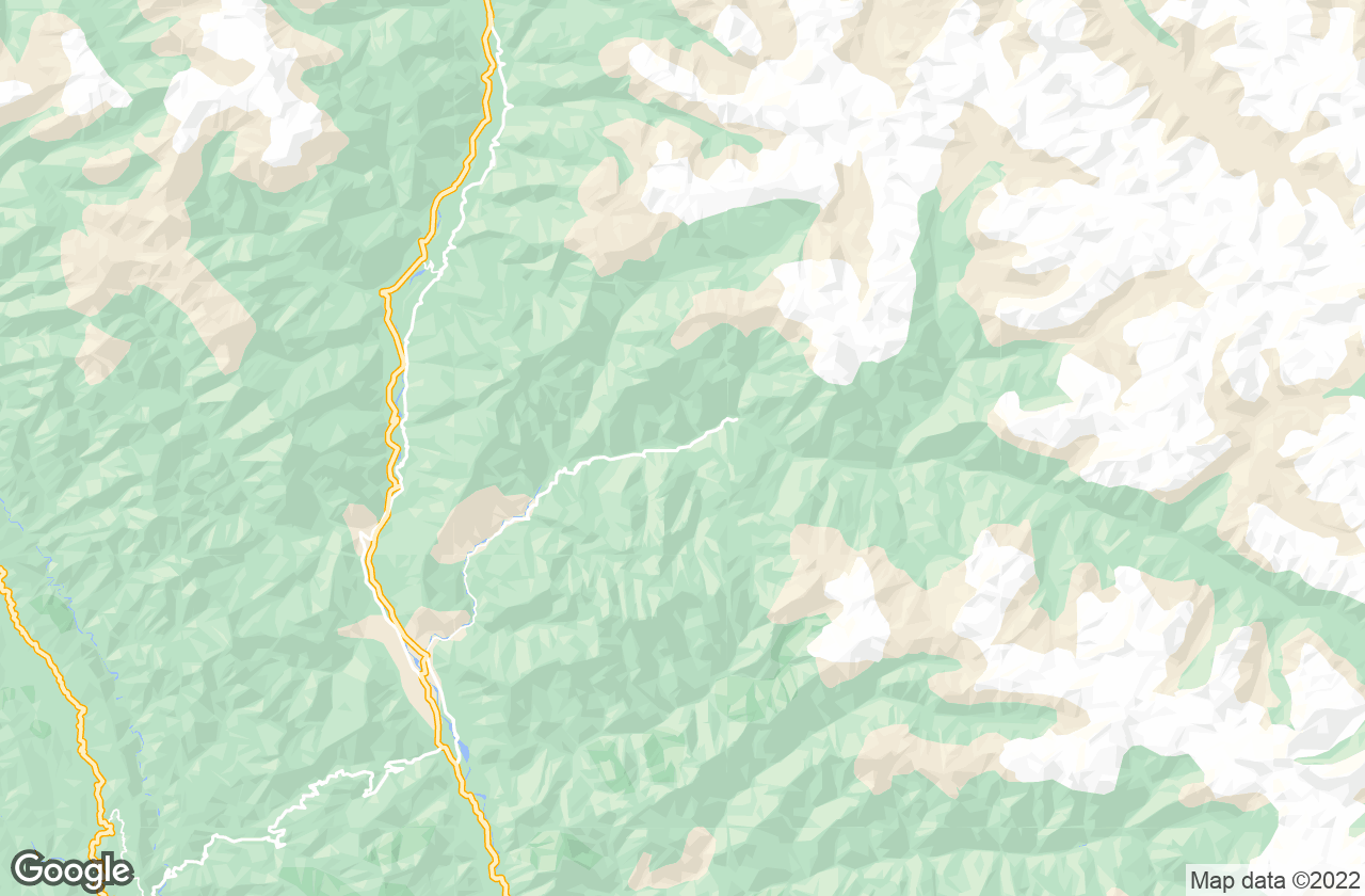 Google Map of Kasol