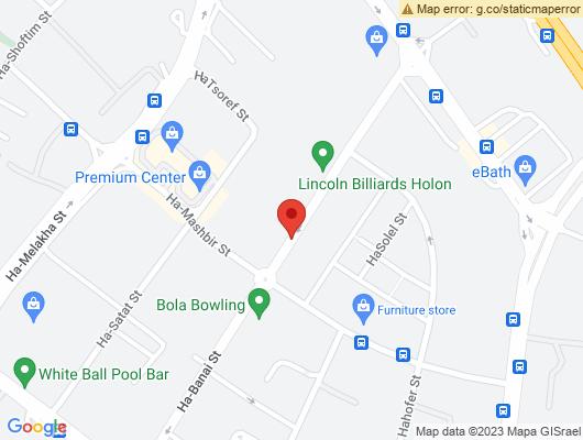 Google Map of הבנאי 24 א.ת  חולון