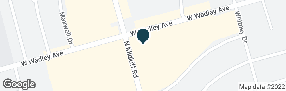 Google Map of3221 W WADLEY AVE