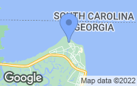 Map of Tybee Island, GA